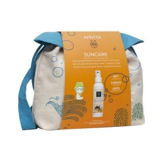 Apivita Suncare Kids Face-Body Spray aloe calendula SPF50 150 ml & Δώρο Backpack