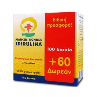 Marcus--Rohrer--Spirulina--180--tabs------60--tabs