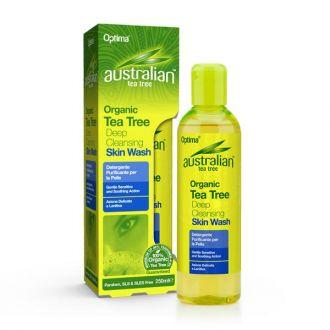 Optima--Australian--Organic--Tea--Tree--Deep--Cleansing--Skin--Wash--250--ml