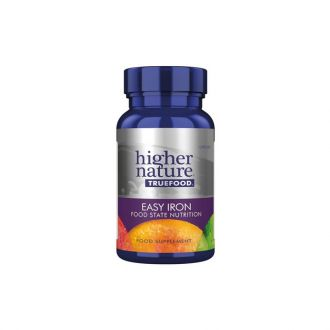 Higher Nature Truefood Easy Iron Food State Nutrition 90 caps