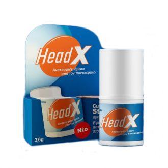 HeadX Cutaneous stick 3.6 gr