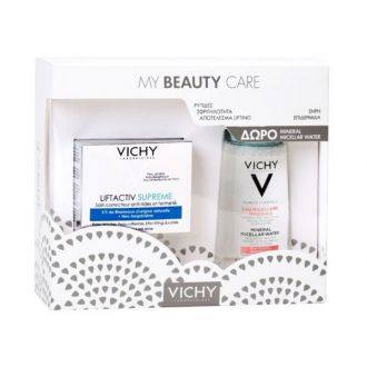 Vichy Promo Liftactiv Supreme Dry Skin Day Cream 50 ml & Gift Mineral Micellar Water 100 ml