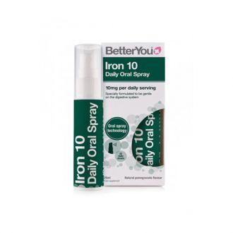 BetterYou Iron 10 Daily Oral Spray 25 ml