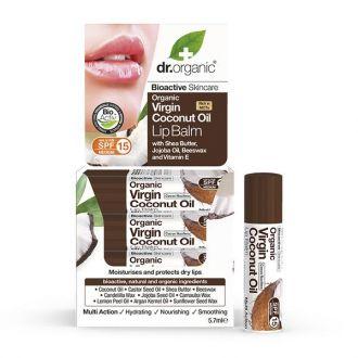 Dr--Organic--Coconut--oil--Lip--Balm--57--ml
