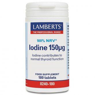 Lamberts--Iodine--150--mcg--180--tabs
