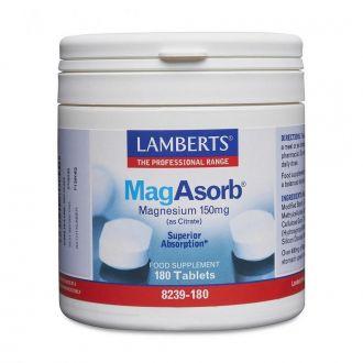 Lamberts--MagAsorb--150--mg--180--tabs