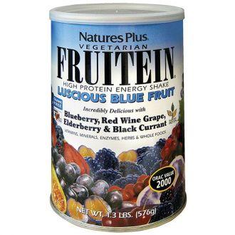 Nature's Plus Fruitein Luscious Blue Fruit Shake 576 gr