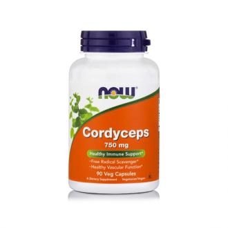 Now Cordyceps 750 mg 90 veg caps