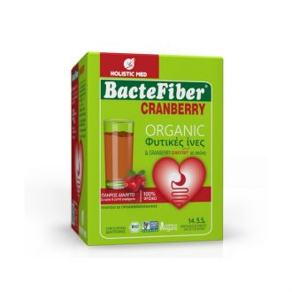 Holistic Med BacteFiber Cranberry Organic 14 sachets x 5.5 gr