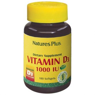 Nature's Plus Vitamin D3 1000 IU 180 softgels