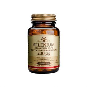 Solgar Selenium 200 μg 100 tabs