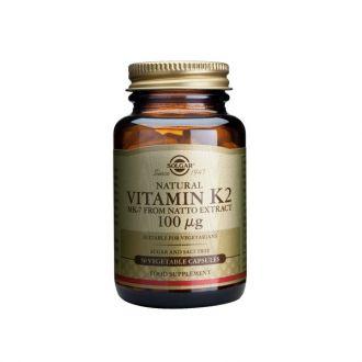Solgar Natural Vitamim K2 MK-7 100 μg 50 veg caps