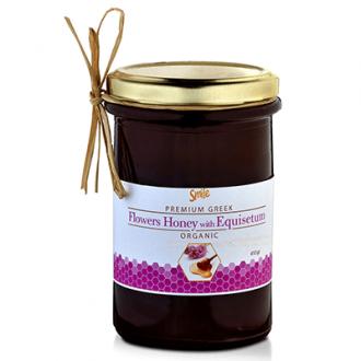 Smile Flowers Honey with Equisetum Organic 410 gr