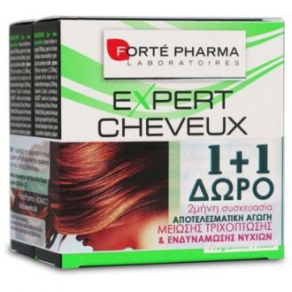 Forte Pharma Expert Cheveux Hair & Nails 28 tabs 1+1 Free
