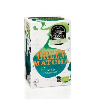 Royal Green Tea Green Matcha 16 tea bags