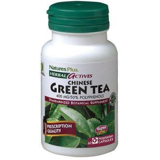 Nature's Plus Green Tea Chinese 400 mg 60 veg.caps