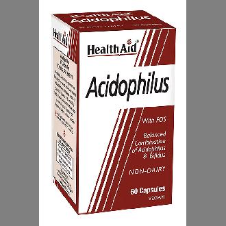 Health Aid Acidophilus 60 vegicaps