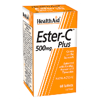 Health Aid Ester C 500 mg Plus 60 tabs