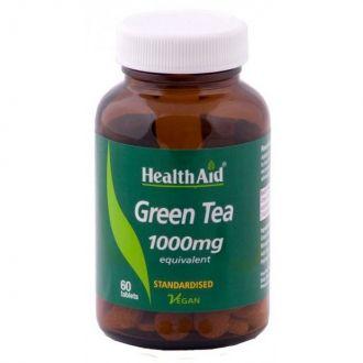 Health Aid Green Tea Extract 1000 mg 60 tabs