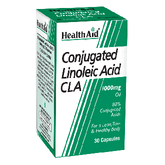 Health Aid Conjucated Linoleic Acid CLA 1000 mg 30 caps