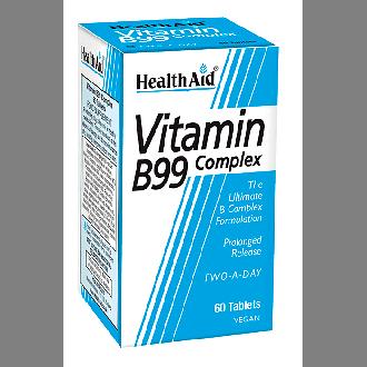 Health Aid Vitamin B99 Complex vegan 60 tabs