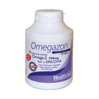 Health Aid Omegazon 750 mg 120 caps