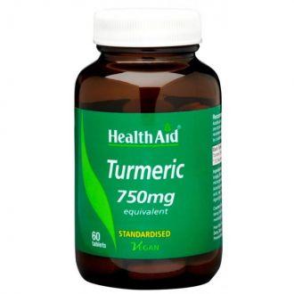 Health Aid Turmeric 750 mg 60 tabs