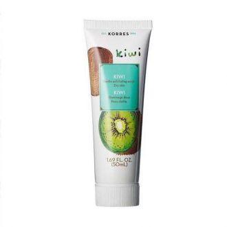 Korres Scrub Kiwi Gentle Exfoliating 18 ml