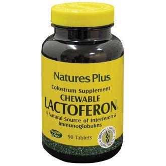 Nature's Plus Lactoferon Chewable Colostrum 90 tabs