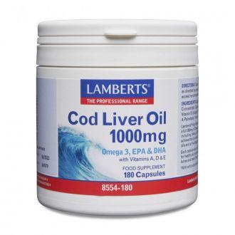 Lamberts Cod Liver Oil 1000 mg 180 caps