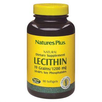 Nature's Plus Lecithin 1200 mg 90 softgels