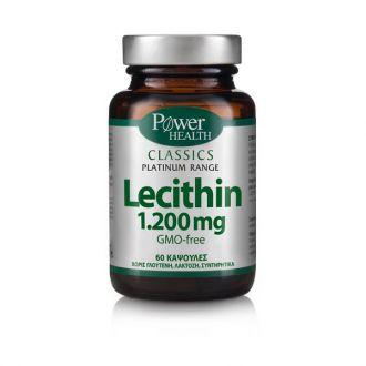 Power Health Platinum Range Lecithin 1200 mg 60 caps