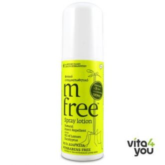M Free Εντομοαπωθητικό Spray 80 ml