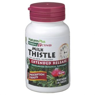 Nature's Plus Milk Thistle 500 mg Extended Release 30 tabs