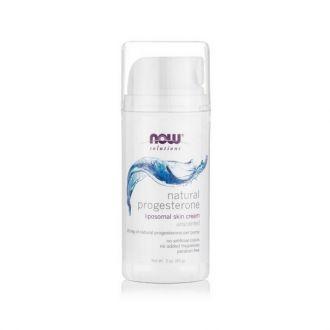 Now Solutions Natural Progesterone Liposomal Skin Cream 87 ml