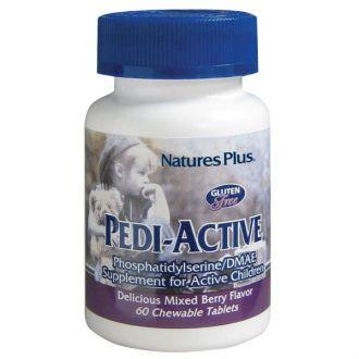 Nature's Plus Pedi-Active Phosphatidylserine/DMAE 60 chewable tabs berry blavor