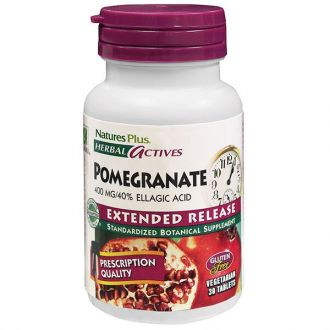 Nature's Plus Pomegranate 400 mg Extended Release 30 tabs