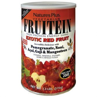 Nature's Plus Fruitein Exotic Red Fruit Shake 576 gr