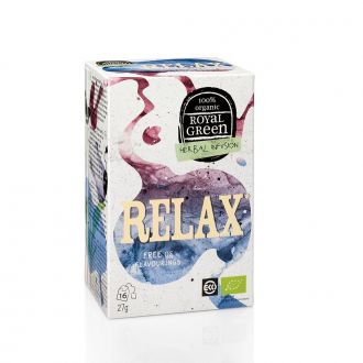 Royal Green Herbal Infusion Relax 16 tea bags