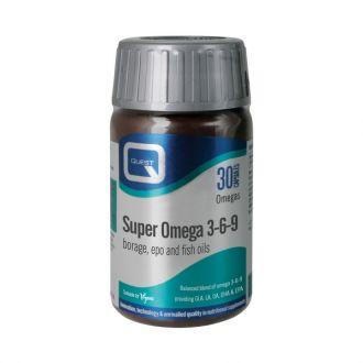 Quest Super Omega 3-6-9 30 caps