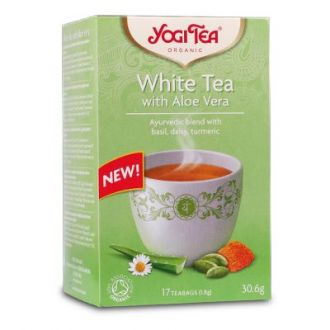 Yogi Tea White Aloe Vera Bio 30.6 gr