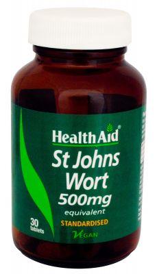 Health Aid St John's Wort 500 mg 30 tabs