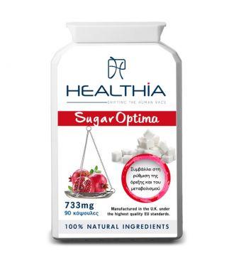 Healthia--Sugar--optima--733--mg--90--caps