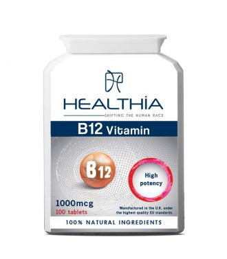 Healthia--Vitamin--B12--1000--mcg--100--tabs