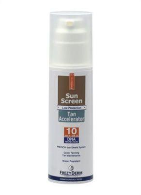 Frezyderm Sun Screen Tan Accelerator SPF10 150 ml