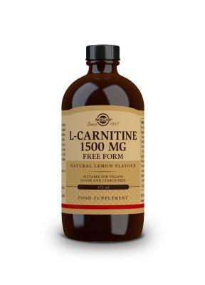 Solgar--L--Carnitine--1500--mg--Liquid--lemon--flavour--473--ml