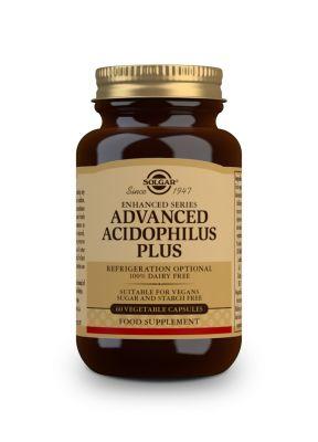 Solgar--Advanced--Acidophilus--Plus--60--vegcaps