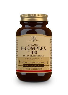Solgar--Vitamin--B--100--Complex--50--veg--caps