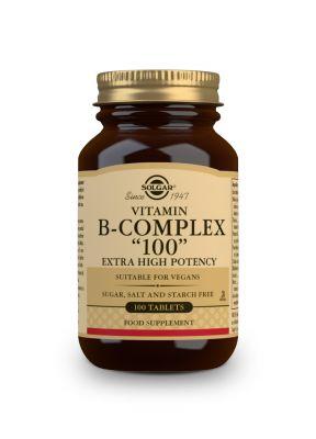 Solgar--Vitamin--B--100--Complex--100--vegcaps