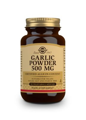 Solgar--Garlic--Powder--500--mg--90--vegcaps